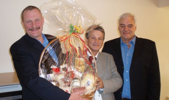 Gerhard Hölzl, in den Ruhestand verabschiedet