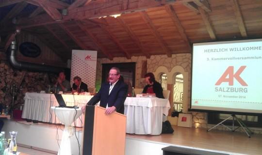 AK Kammervollversammlung 07.11.2014 in Ramingstein