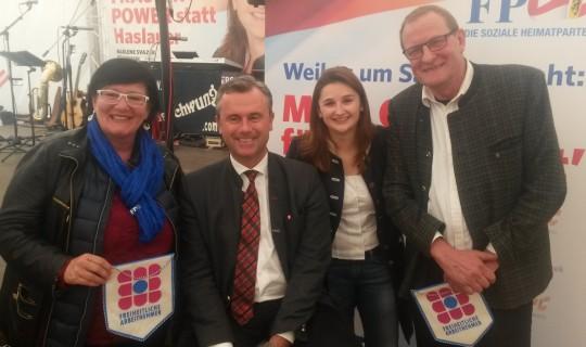 FPÖ-Maifest am Kuglhof in Salzburg am 30.04.2017